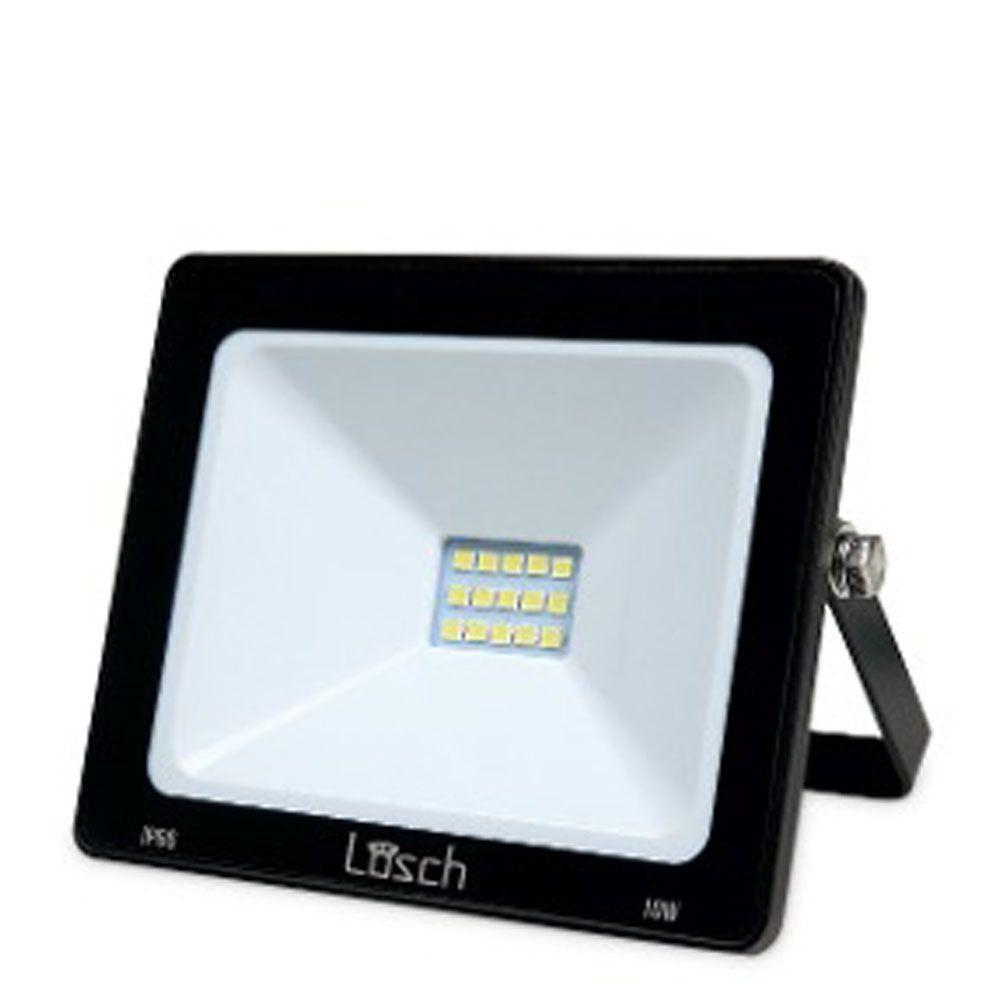Refletor Led Slim 10W 6000K Bivolt - Losch
