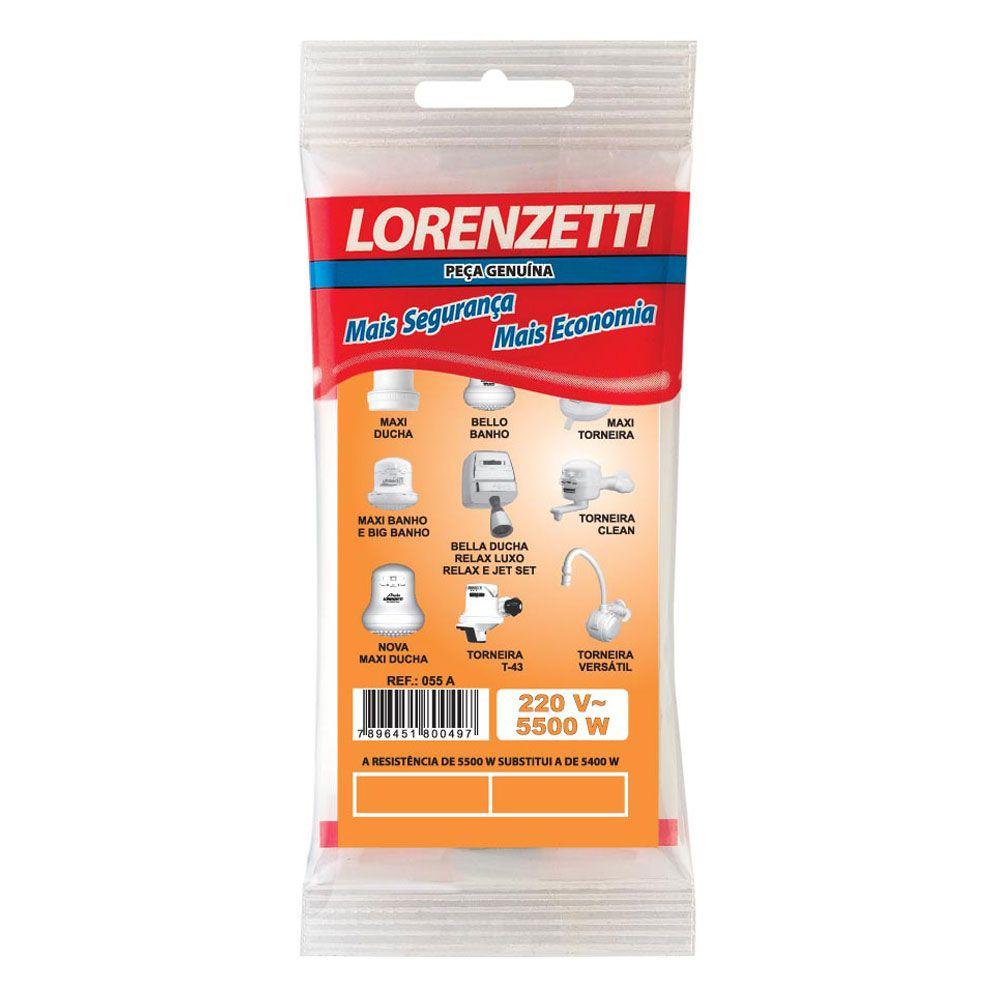 Resistência para Chuveiro 5500W 220V - Lorenzetti