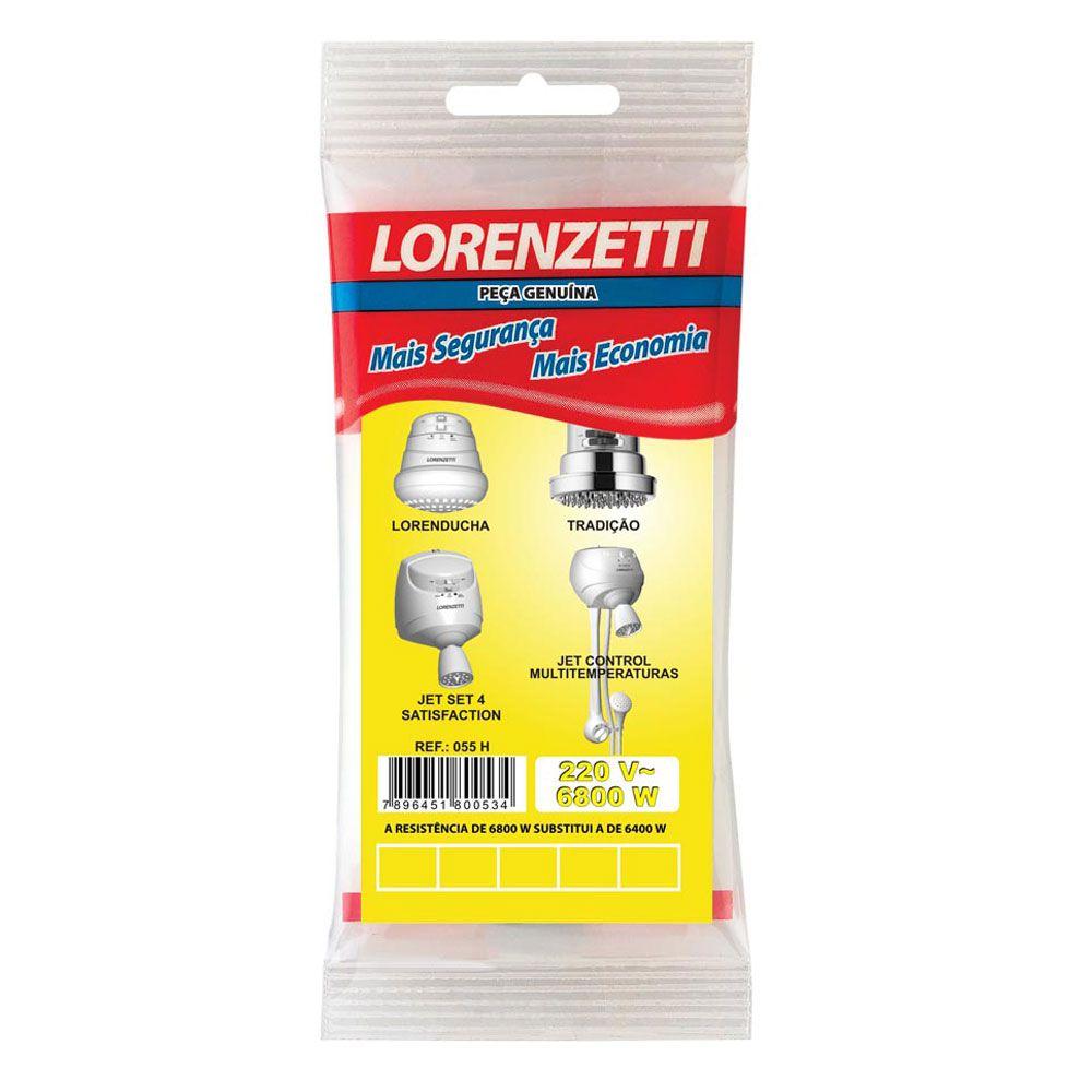 Resistência para Chuveiro 6800W 220V - Lorenzetti