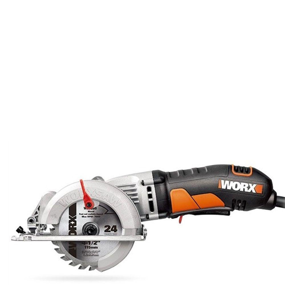 Serra Circular Elétrica Compacta 400w 43mm Wx429l 220V - Worx