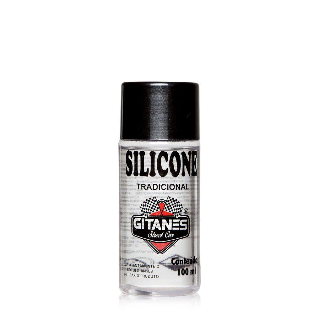 Silicone Gel Automotivo 100ml - Gitanes