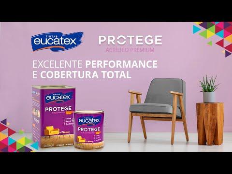 Tinta Acrílica Premium Eucatex Protege 18L