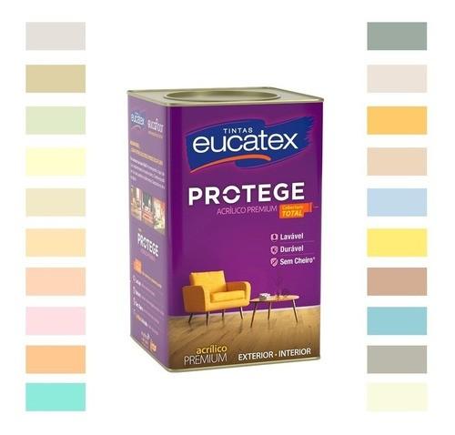 Tinta Acrílica Premium Eucatex Protege 3,6L
