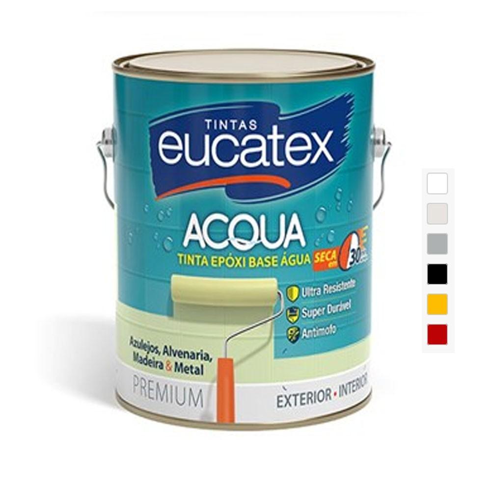 Tinta Epóxi Acqua A Base D'Água 3,6L - Eucatex