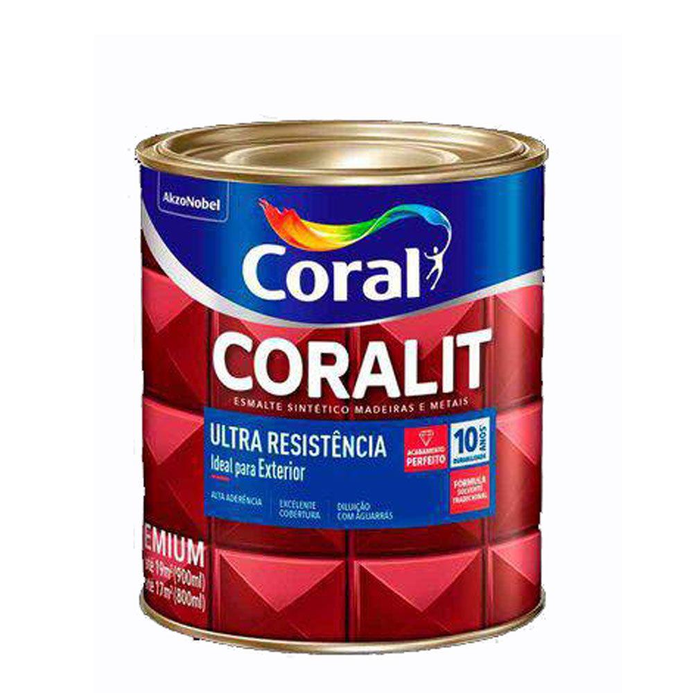 Tinta Esmalte Coralit 1/4 - Coral