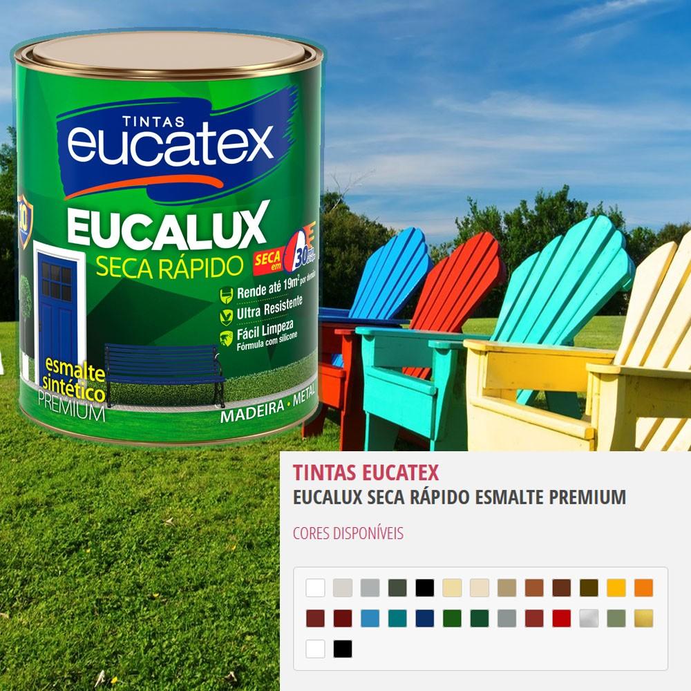 Tinta Esmalte Eucalux 3,6L - Eucatex