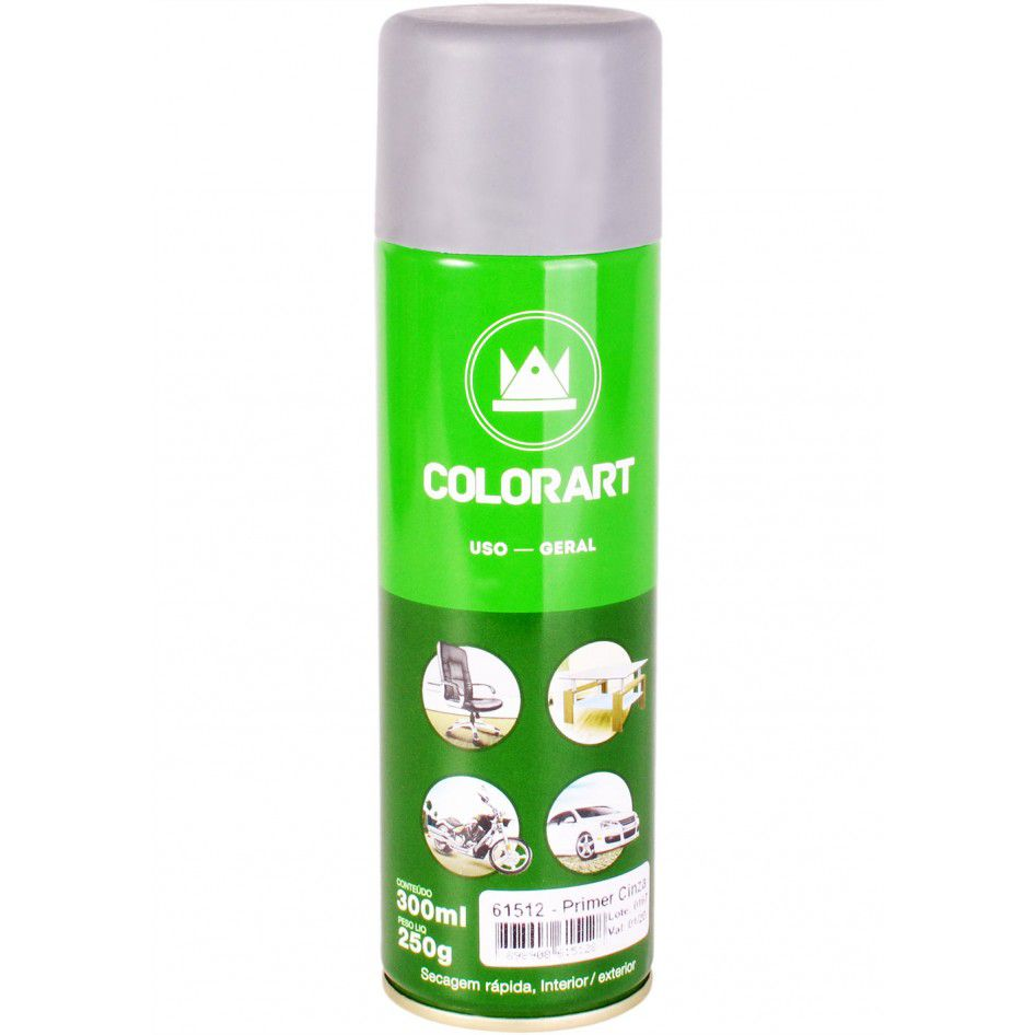 Tinta Spray Primer Cinza 300ml - Colorart