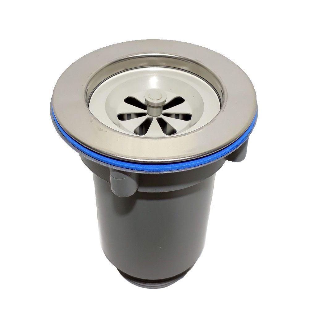 Válvula Americana com cesto coletor pvc e inox - Filtro Mania