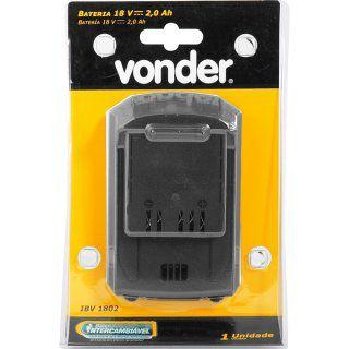 Bateria 18 V, 2,0 Ah, VONDER