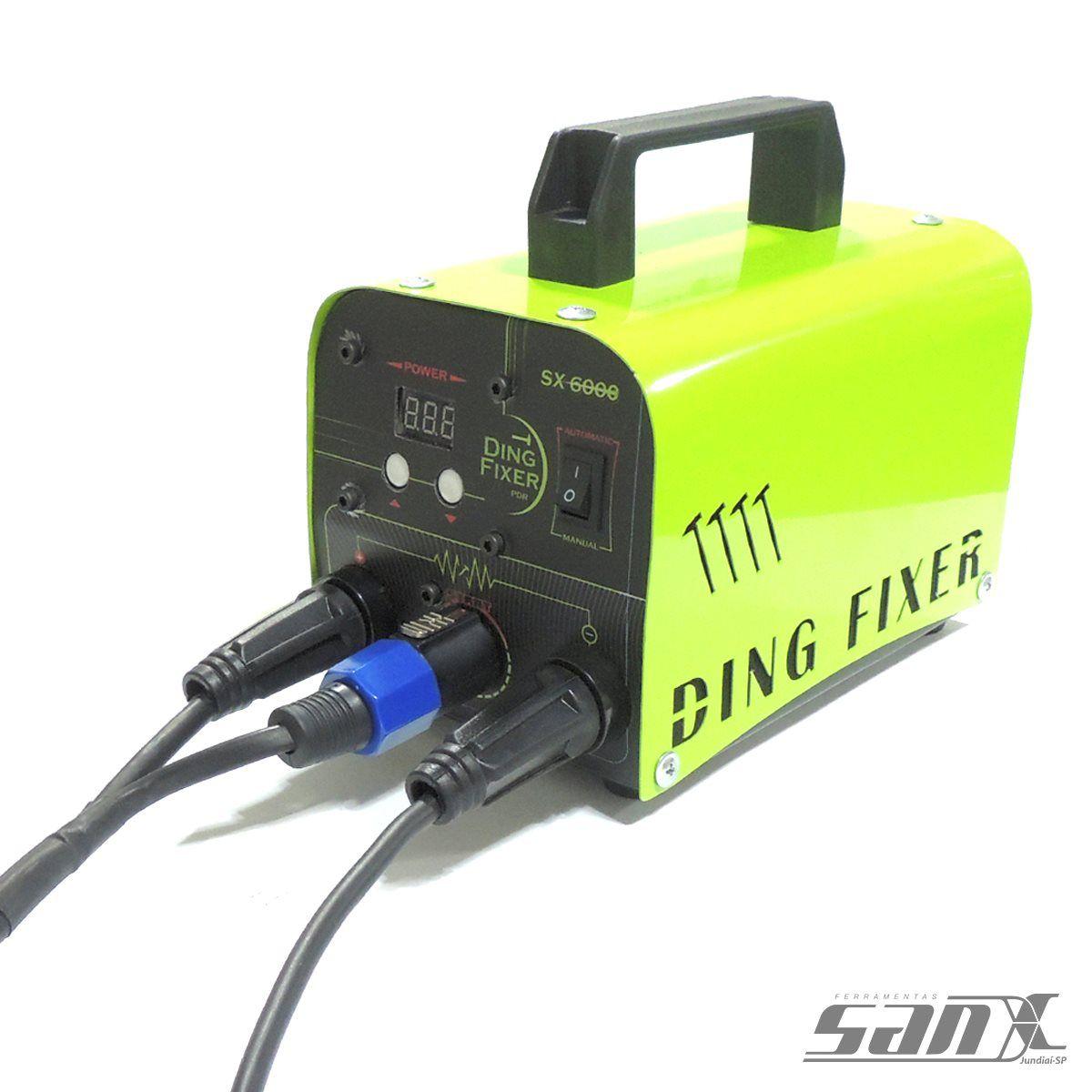 MAQUINA DE ENCOLHER CHAPA - DING FIXER SX-6000