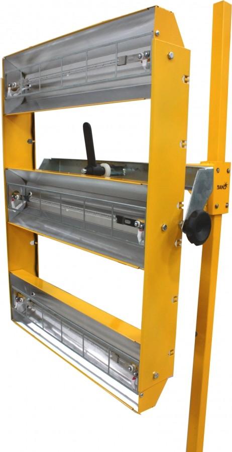 Painel de Secagem Rápida Infra Fácil com 3 Lâmpadas 220V 3000W - BAND - 3487