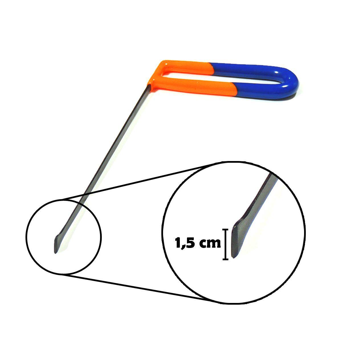 RABO DE PEIXE Ultra Fina - 25 cm ponta de 15 mm