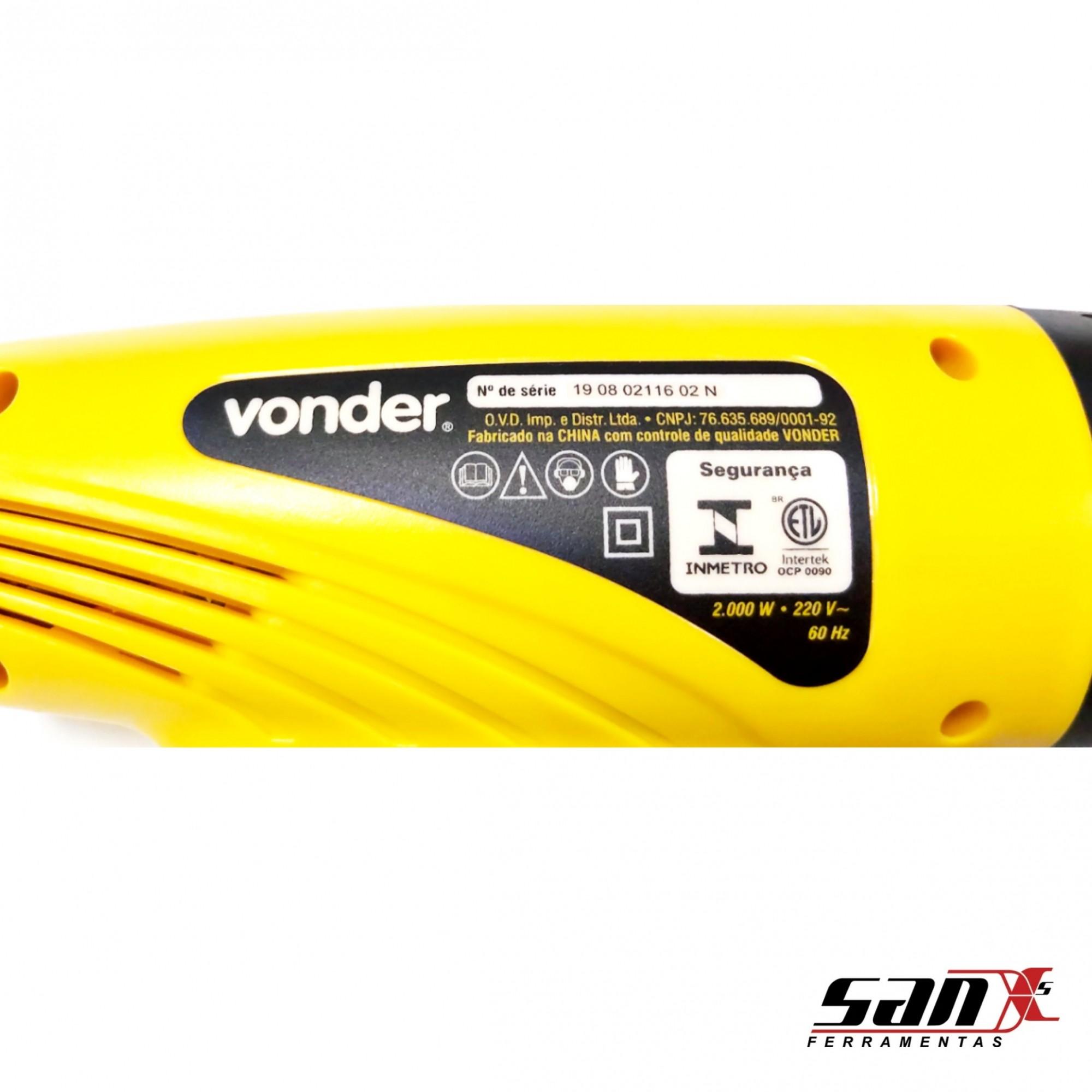Soprador térmico STV 2000N 220 V - VONDER