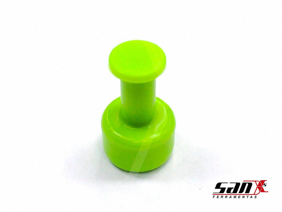 VENTOSA REDONDA VERDE 9 mm - GANG GREEN
