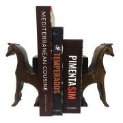 Aparador de Livros Cavalo de Madeira