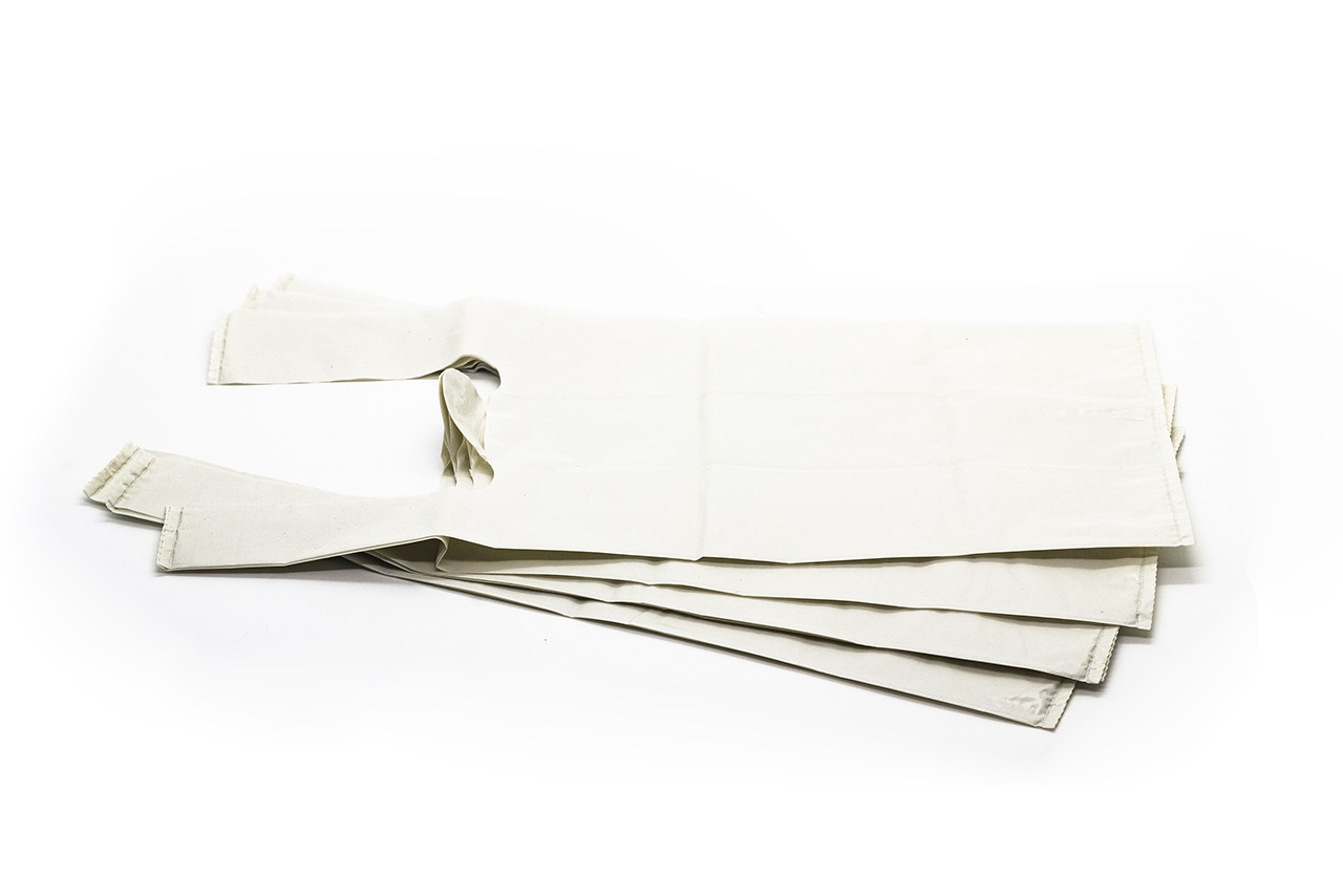 SACOLA BRANCA B (LEITOSA) 40X50 PACOTE 5 kg