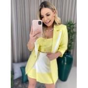 Conjunto Blitz Suit amarelo