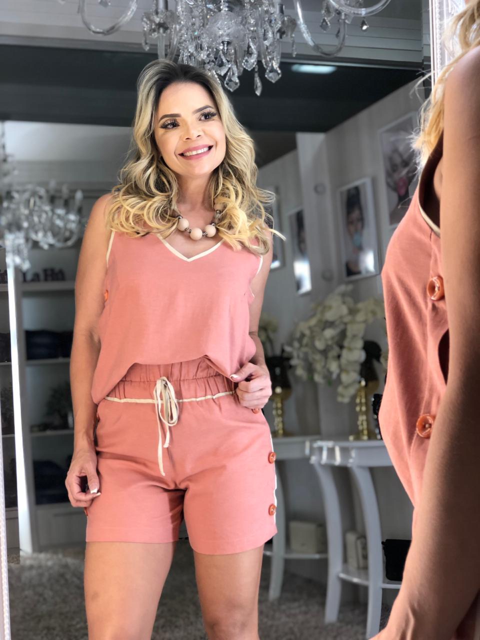 Blusa Vivian Rosê