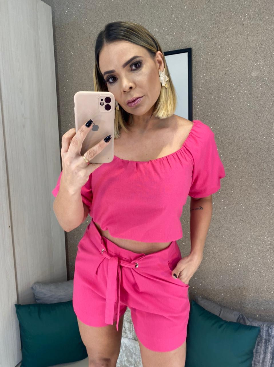 CONJUNTO ALFAIATARIA AMARAÇAO FRENTE