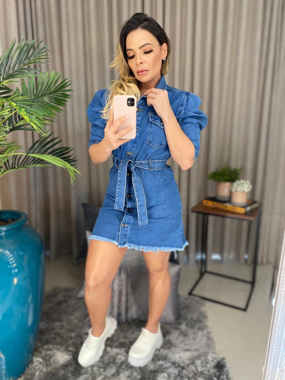 Vestido jeans alcance