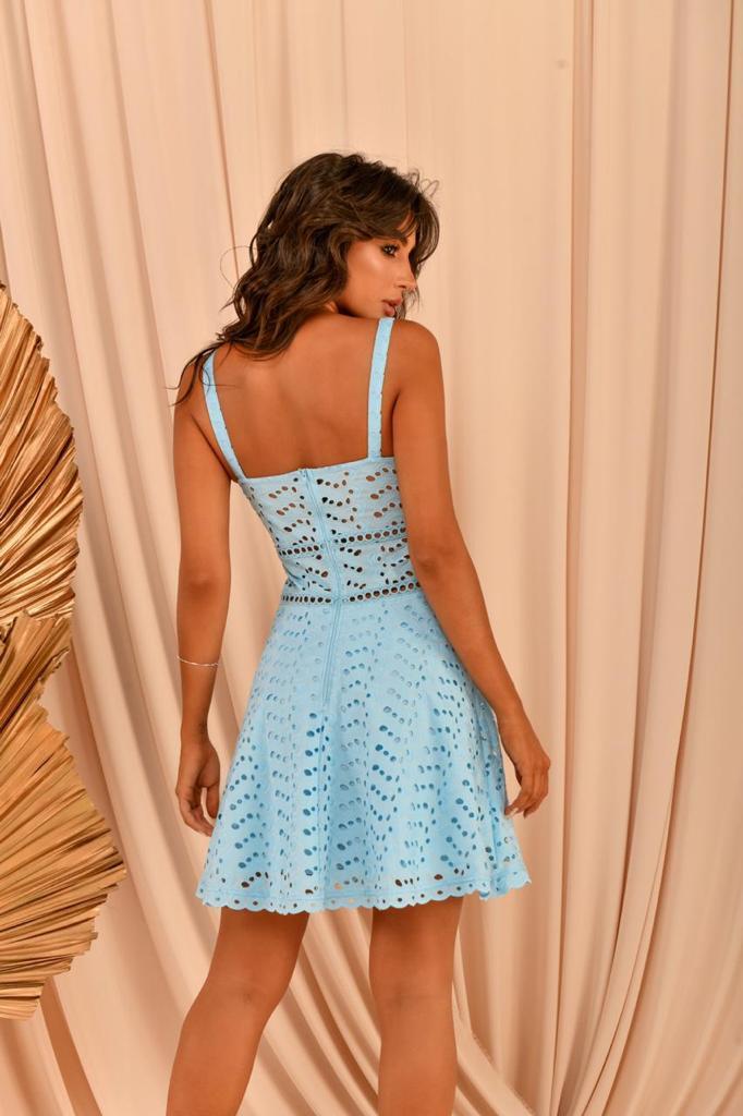 Vestido Lanna Azul