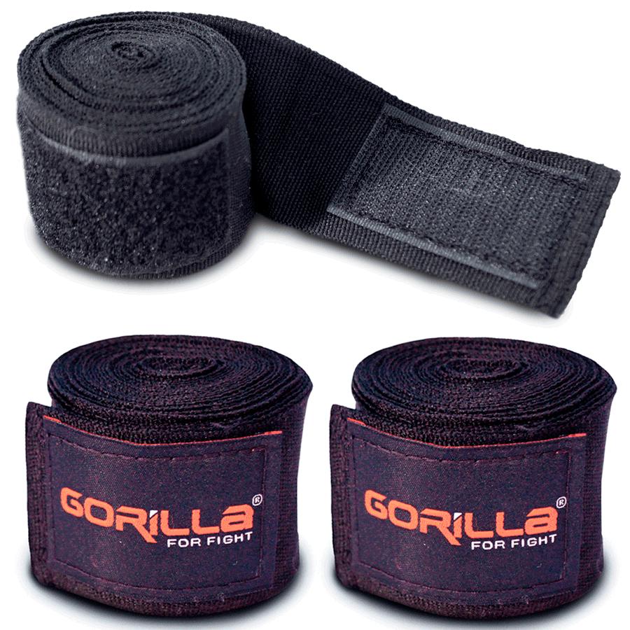 Bandagem Elástica 2,55 Metros Boxe/Muay-Thai - Gorilla