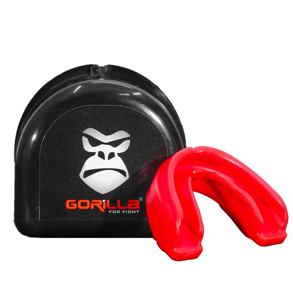 Protetor Bucal Profissional Com Capinha -Muay-Thai - Gorilla