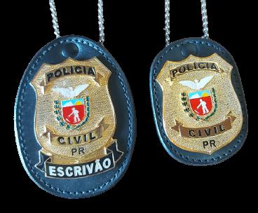 DISTINTIVO - POLICIA CIVIL PARANÁ