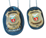 DISTINTIVO - POLICIA CIVIL PARANÁ