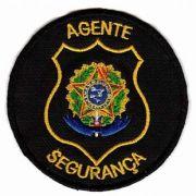 BORDADO PATCHES - AGENTE SEGURANÇA REP