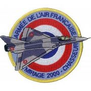 BORDADO PATCHES - MIRAGE 2000 CHASSEUR