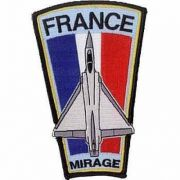 BORDADO PATCHES - MIRAGE FRANCE