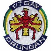 BORDADO PATCHES - ORUNGAN 1/7 GAV