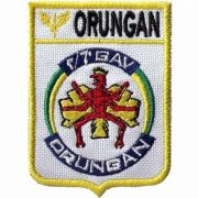 BORDADO PATCHES - ORUNGAN DOM