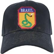 BONÉ BORDADO - COBRA VAI FUMAR - FEB BRASIL