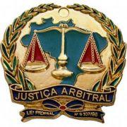 PIN BRASÃO - JUSTIÇA ARBITRAL - JUIZ ARBITRAL