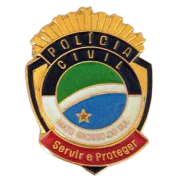 PIN BRASÃO - POLÍCIA CIVIL MATO GROSSO DO SUL