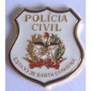 PIN BRASÃO - POLÍCIA CIVIL SANTA CATARINA