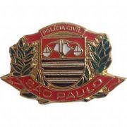 PIN BRASÃO - POLÍCIA CIVIL SÃO PAULO
