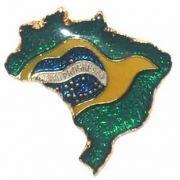 PIN COLORIDO - MAPA DO BRASIL