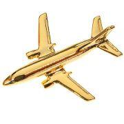 PIN DOURADO - BOEING 737-200 - PD (2C)