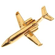 PIN DOURADO - LEARJET - PD (12A)