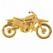 PIN DOURADO - Racing Bike (17B)