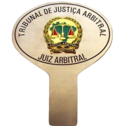 Placa Aço Inox Para Painel De Carro JUSTIÇA ARBITRAL