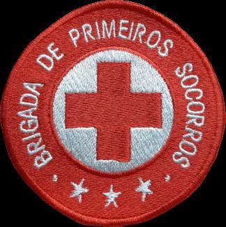 Bordado - Brigada de Primeiros Socorros - 8cm