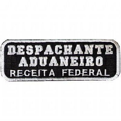 BORDADO - DESPACHANTE ADUANEIRO - RECEITA FEDERAL