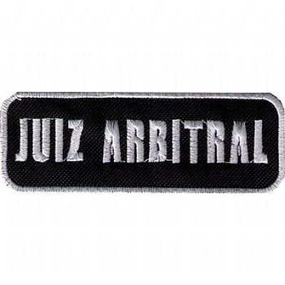 BORDADO - JUIZ ARBITRAL
