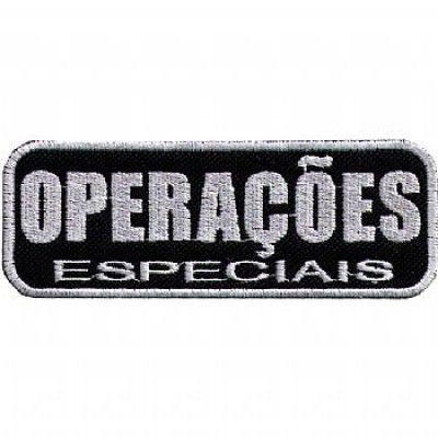 BORDADO - OPERAÇÕES ESPECAIS