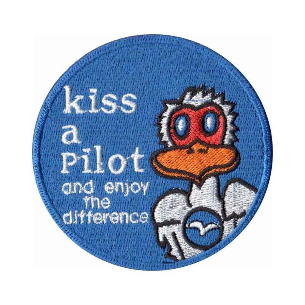 BORDADO PATCHES - KISS A PILOT