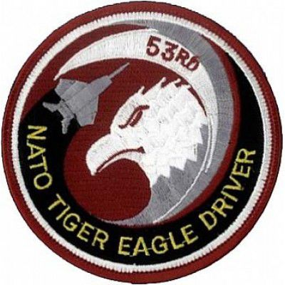 BORDADO PATCHES - NATO TIGER EAGLE DRIVER